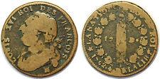 LOUIS XVI 12 DENIERS 1792 MA MARSEILLE  L'AN 4 G.15