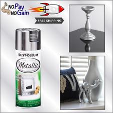Rust-Oleum SILVER Metallic Spray Paint For Metal Wood & Plastic DRIES IN 15 MIN