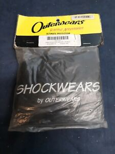 Outerwears Shockwears Shock Cover Rear black fits Yamaha YFZ450 2004-2009