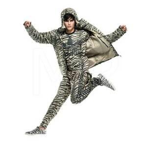 adidas Jeremy Scott Tiger Stripe Zebra TrackPants ALLOVER ANIMAL PRINT M63868 XL