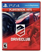Driveclub (Playstation 4 / PS4 Hits) BRAND NEW FACTORY SEALED Drive Club Racing