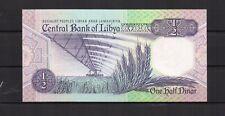 LIBYE Libya Central Bank billet de 1/2 Dinar N.D. (1990) NEUF N° KP 53