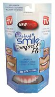 Instant Smile Comfort Fit Flex Teeth Top Cosmetic One Size Fits All NEW