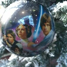 Star Wars Decorations Christmas Tree Baubles Pack of 2 For Sale Luke, Han & Leia