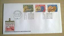 FDC Kinderpostzegelaktie Amsterdam 1990