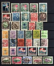 658-INTERESTING LOT of USED and MH* STAMPS from LATVIA.LOTE de Sellos de LETONIA