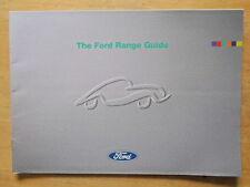 FORD RANGE 1994 UK Mkt Brochure  Fiesta RS 1800 Escort RS Cosworth Probe Scorpio