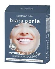 BIAŁA PERŁA - Teeth Whitening System 10 DAYS, 3 PHASES - biala perla