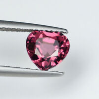 1.89 ct TOP LUSTROUS PURPLE PINK 100% NATURAL TOURMALINE - Heart - See Vdo 3606