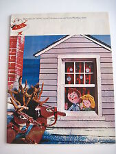 "Charming 1961 Toy Christmas Catalog ""Santa's Playthings"" w/ Reindeer *"