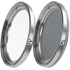 37mm UV Filter & CPL Polfilter Zirkular für Kameras mit 37mm Einschraubanschluss