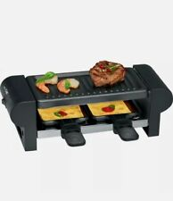 Raclette-Grill RG 3592, schwarz CLATRONIC 263694 (4006160636949)