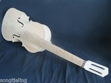 """Unfinished solid wood 6 strings 23""""(1/4) SONG Brand Maestro""""arpeggione"""""""