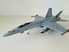 LTD Franklin Mint Armour F/A-18 Hornet Schweizer Luftw.TIGER MEET B11E108 1:48