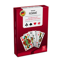 Senioren Romme Kartenspiel 2 x 55 Blatt Französisches Bild extra große Zeichen