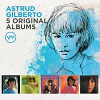 ASTRUD GILBERTO - 5 ORIGINAL ALBUMS 5 CD NEW+ (LOOK TO THE RAINBOW)
