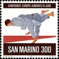 SAN MARINO - 1981 - European Junior Judo Championship -- MNH Stamp - Scott #1010