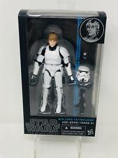 Star Wars Black Series Blue Line Luke Skywalker Stormtrooper Disguise #12 Hasbro