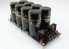 125V / 10000uF Rectifier Filter Power Supply Board 120A For Dual Power Amplifier