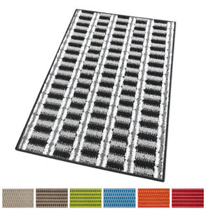 Carpet Kitchen Striped Modern Weaving 3D Soft Non-Slip Washable Theshold