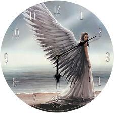 Wanduhr Spirit Guide Anne Stokes 34cm Bilderuhr UHR Fantasy Clock Mystik Gothic