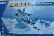 MIRAGE IIIE / O / R / RD / EE  /EA  KINETIC 1/48 PLASTIC KIT