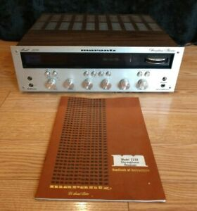 """Marantz 2230 Stereophonic Receiver With Manual, For Parts / Repair. 1970""""s"""