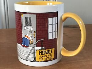 Vintage Gary Larson The Far Side Midvale School For Gifted 1998 Coffee Mug Cup