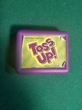TOSS UP! DICE Game TRAVEL case Family Fun