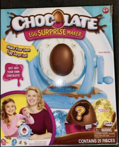 Chocolate Egg Surprise Egg Maker Make your Own Toy Crafts Kids Choccy