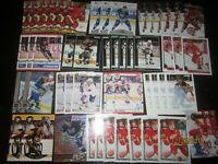 Huge Lot of (50) Paul Coffey Hockey Cards Red Wings