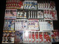 Huge Lot of (50) Paul Coffey Hockey Cards Red Wings