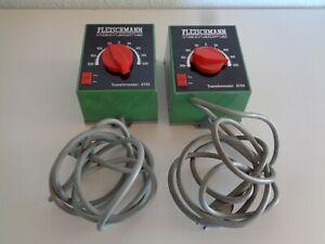 Fleischmann H0/N 6750 2 x Transformator Trafo 220 V