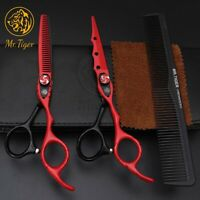 6 Pro Hair Cutting Thinning Scissors Set Shears Barber Salon Hairdressing