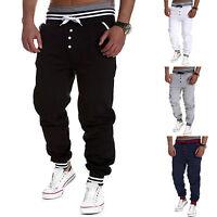 Mens Sports Jogger Dance Activewear Baggy Harem Pants Slacks Trousers Sweatpants