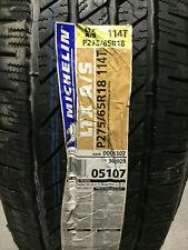 1 New P 275 65 18 Michelin LTX A/S Tire