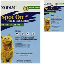 New Spot On Flea and Tick Control Prevention Health for Cats Kittens