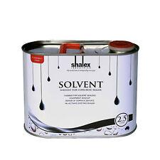 NEW Solvent Improve Adhesion Of Concrete Sealers Clean Up Sealer Repairs 2.5L