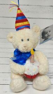 Baby Gund FAO Teddy Bear Plush Cupcake Party Hat 42191