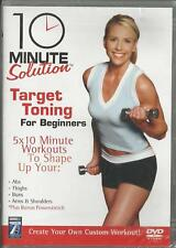 10 Minute Solution - Target Toning (DVD, 2006) Exercise Fitness FREE SHIPPING