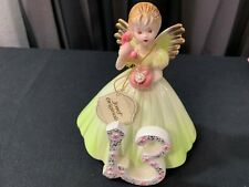 """A Josef Original Collectible Angel ~ """"The Thirteenth Year"""" w/Tag ~ 5 1/2"""" Tall"""