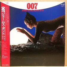 OST 007 JAMES BOND MOVIE HITS LP w/OBI Insert JAPAN ISSUE