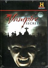 Vampire Secrets. History Channel Doco. New In Shrink!