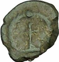 THEODOSIUS II 425AD Authentic Ancient Roman Coin Cross  i40008