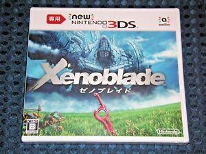 Nintendo Namco new 3DS Xenoblade 3D RPG JAPAN amiibo not switch 2 FREE AIR SHIP