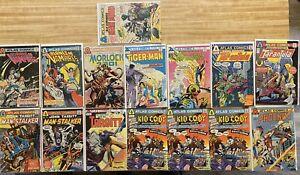 ATLAS COMIC LOT 15 BOOKS  TARGITT/PHOENIX/TIGER-MAN/MORLOCK MORE