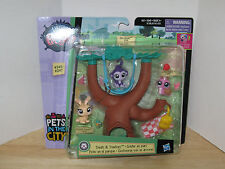 Littlest Pet Shop LPS Treats & Treetops 3 Pack #245-#247 MOSC Pets in the City