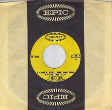 THE HOLLIES  I Can't Tell The Bottom From The Top  original 45 from 1970