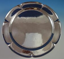 Kalo Sterling Silver Sandwich / Cookie Plate Handwrought & Hammered #33S (#1578)