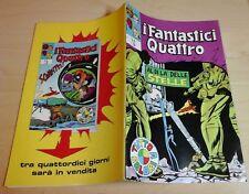 I FANTASTICI QUATTRO 4 corno N.32 AL DI LA' DELLE STELLE capitan marvel 1972